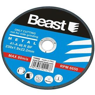 Disque à tronçonner pour métal 1.9 x 230 mm