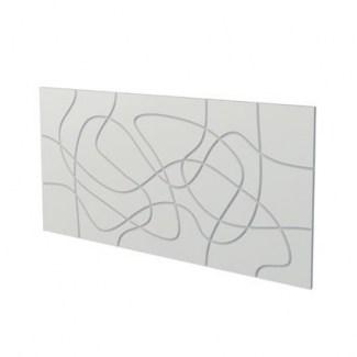 "Panel Wall Panel 3d ""laces"" Nmc 2Pcs"