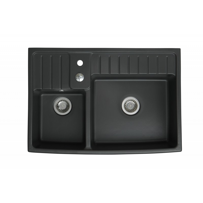 evier c ramique 1 bac timbre d 39 office gamme baroque. Black Bedroom Furniture Sets. Home Design Ideas