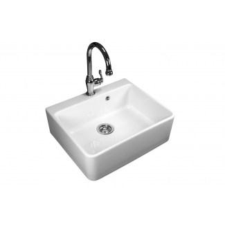 Keramik Waschbecken 1 White Campaign Sink.
