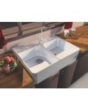 Ceramic Sink 2 Grape Harvest white