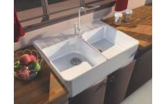 Ceramic Sink 2 Grape Harvest white