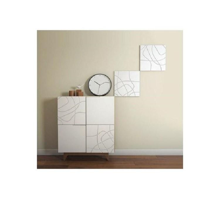 """Panneaux Wall Panel 3d """"laces"""" Nmc 2Pcs"""