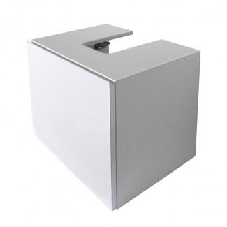 White Bathroom Cabinet 43CM