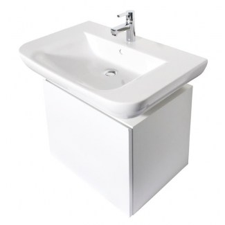 Badezimmerschrank weiß 53CM