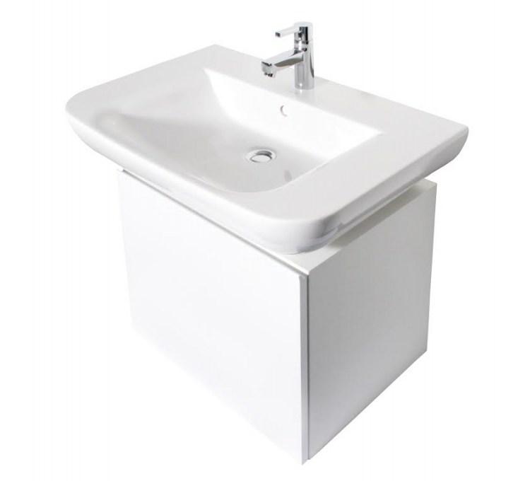 White Bathroom Cabinet 73CM