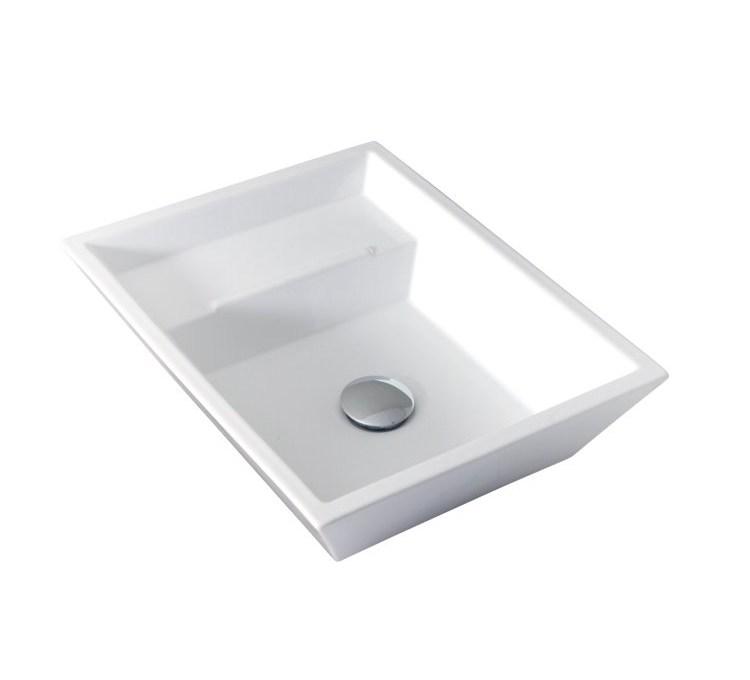 Vasque Céramique Eider Blanc.