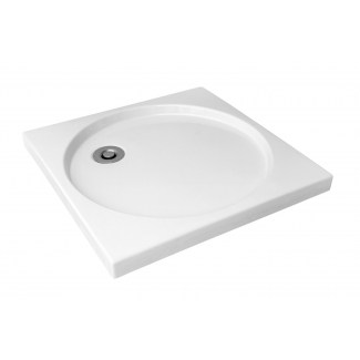 Ceramic shower tray White