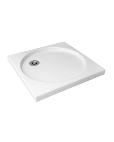 Receveur de Douche en céramique Stile Blanc 9-03 80 X 80 cm