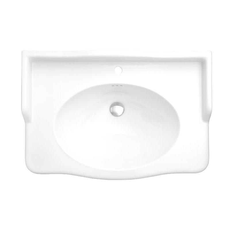 lavabo sur colonne sarreguemines louxor blanc. Black Bedroom Furniture Sets. Home Design Ideas