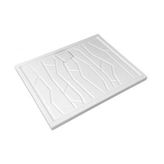 Arizona Keramiktablett 100 X 80 cm Weiß.