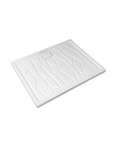 Receveur Céramique Arizona 100 X 80 cm Blanc.