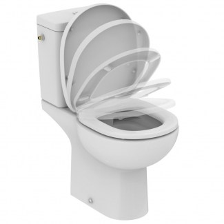 Toilet Seat Siamp Soft White.