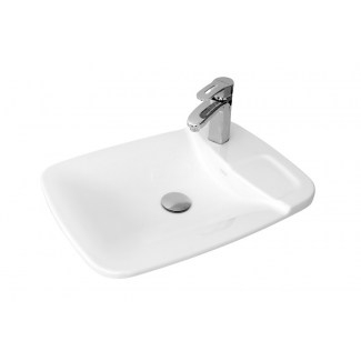 "Built-in ceramic washbasins ""Plume"" Galley stamp."