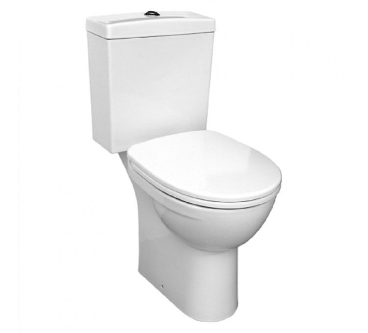 Pack wc System Associé Blanc Sarreguemines.