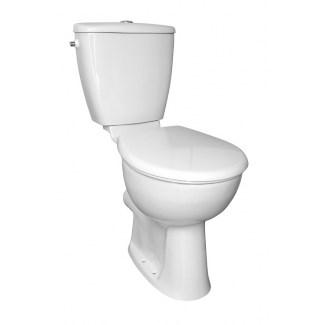 Weiß Serifos Surelevé Pack wc
