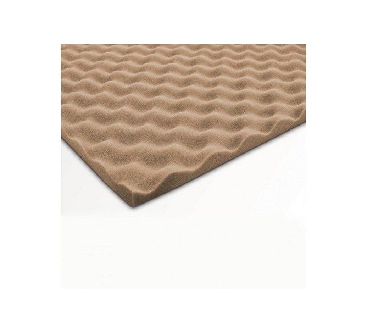 Plaques de Mousse Noma Acoustic wave 50X50 EP 25MM