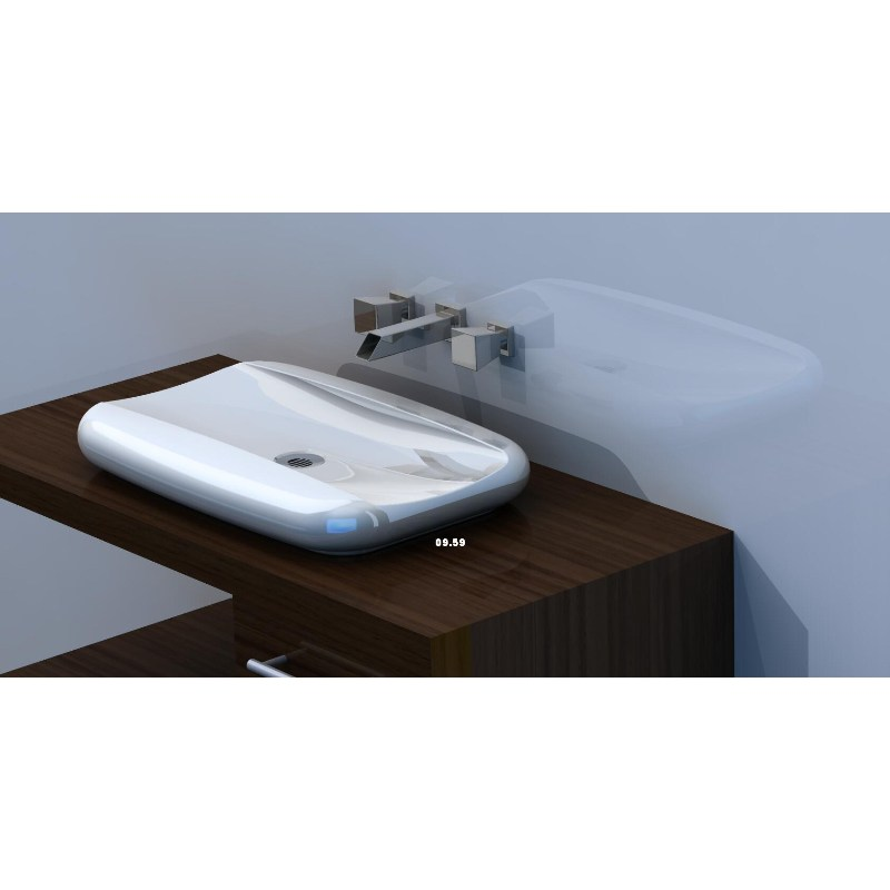vasques poser ceramique grande pastille. Black Bedroom Furniture Sets. Home Design Ideas
