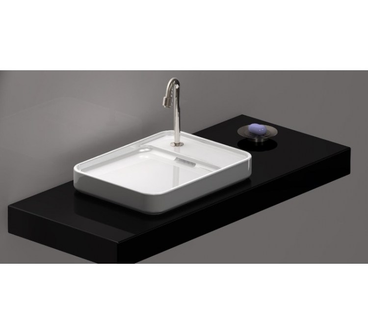 vasque c ramique poser grande pastille. Black Bedroom Furniture Sets. Home Design Ideas