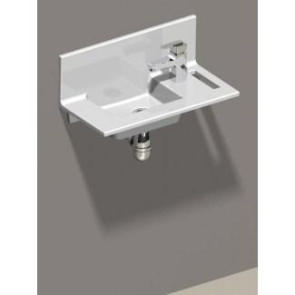 """Vasque Céramique à Fixer """"Concept"""" Blanc"""