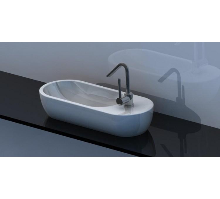 Vasque Pyrogue blanc