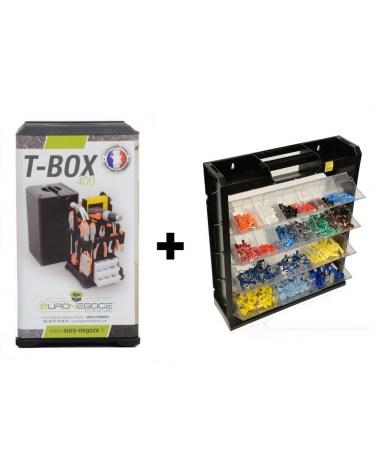 Lot de Boitiers de Rangement TBox+Flipper Box