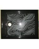 Ceramic shower tray Black