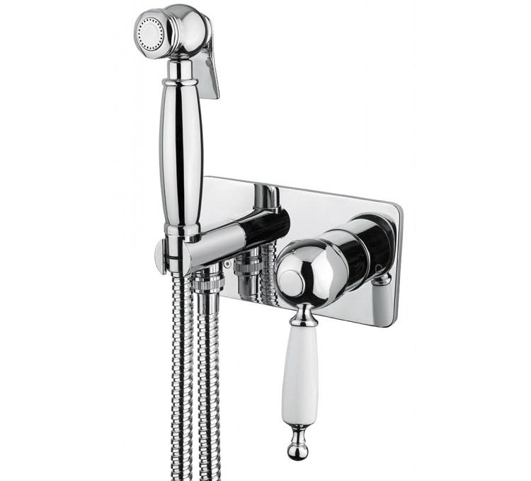 kit de douche hygienique à encastrer