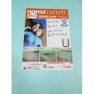 Underlay Parquet Noma Parket Green plates 5mm 7M2
