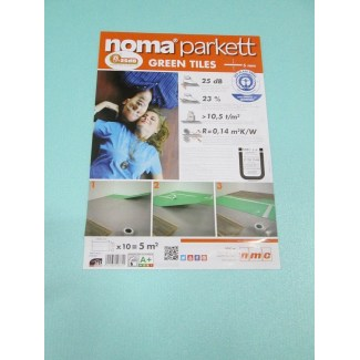 Unterlage Parkett Noma Parket Green Platten 5mm 7M2