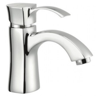 Chrome washbasin mixer Notto