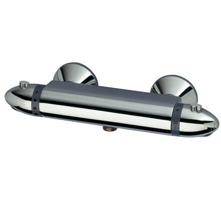 Mezcladoras termostáticas de ducha NF Ariane Ecostop 150mm