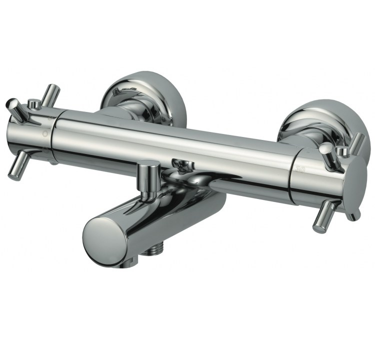 Mezclador termostático de baño y ducha Kiko 150 mm
