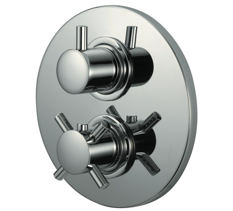Mixers Kiko Recessed 3/4 Thermostatic With Stop Valve