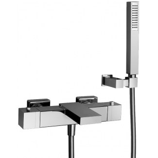 Mitigeurs Bain Douche Murale Thermostatique Nf Lito