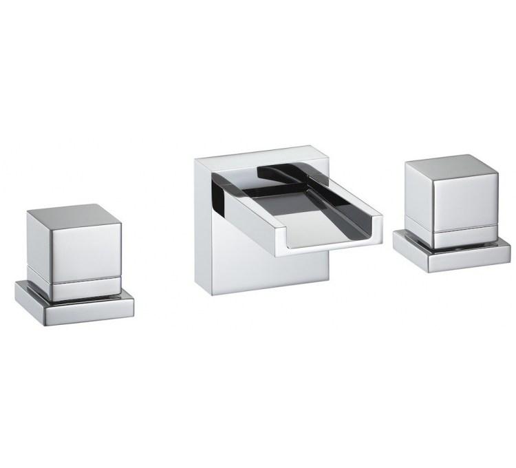 Melangeur Batterie Lavabo Sur Table 3 Trous Lito Sans Vidage
