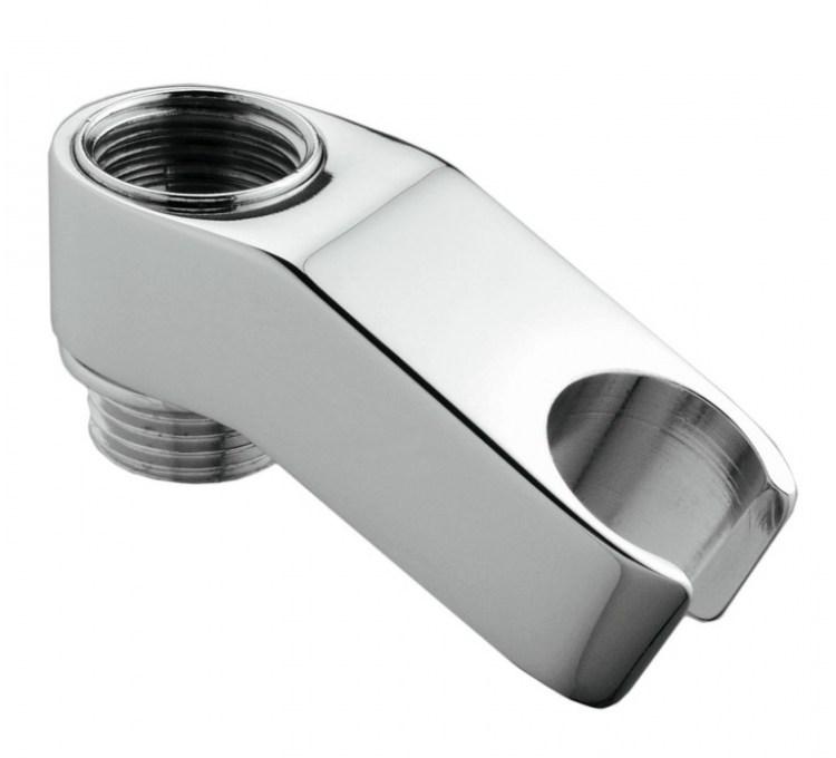 Supporto doccia in ottone per miscelatore MF 1/2