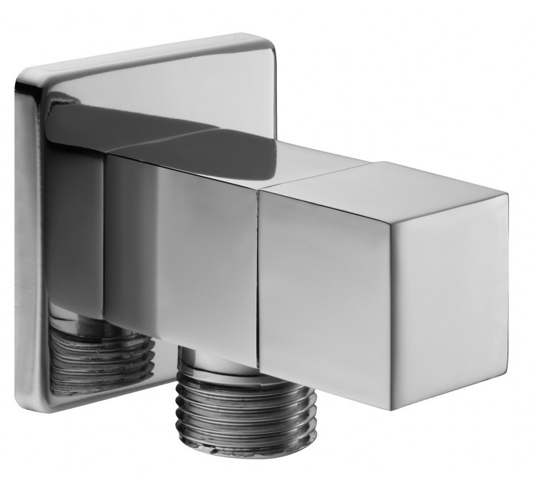 Rubinetto di chiusura quadrato per doccetta igienica