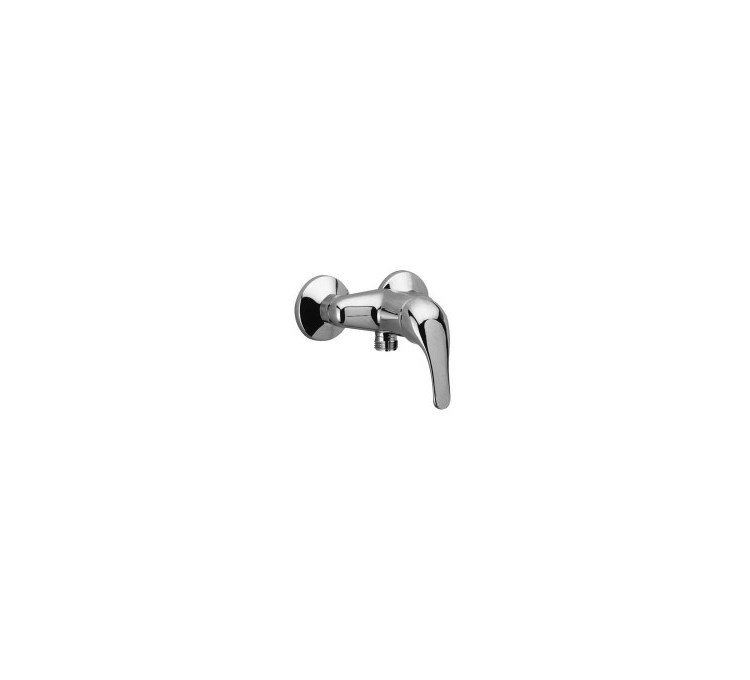 Mezclador de ducha con distancia al centro 100 mm.
