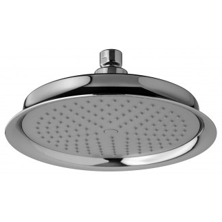 Maxi showerhead in abs Neo-Retro with antilime pegs Ø200 mm
