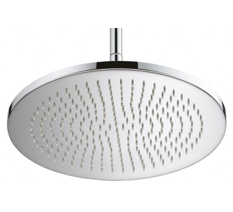 Maxi soffione doccia ultrapiatto Ø 400 mm ep 8mm