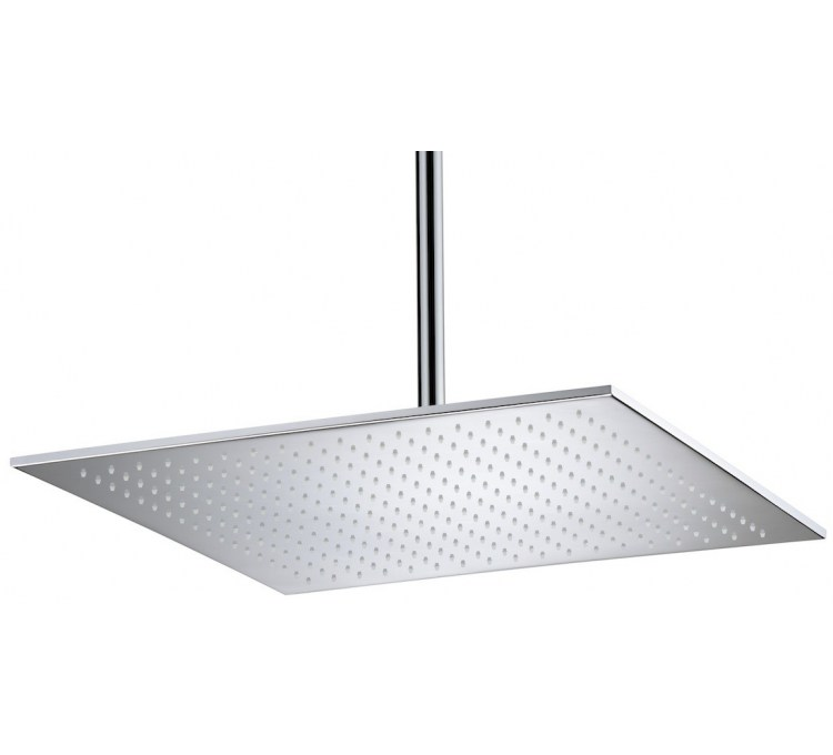 Maxi showerheads ultra flat 500x500mm ep 8 mm