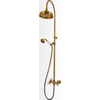 Retro shower column set on mixer M 1/2
