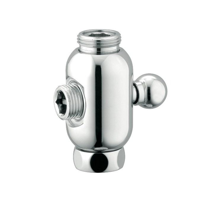 Desviador de columna de ducha esférico cromado FM3 / 4