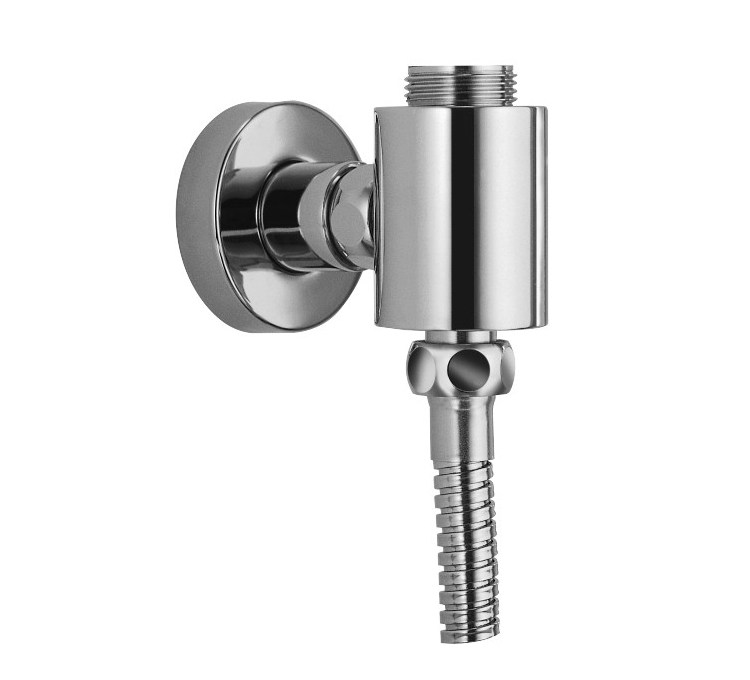 Shower column bracket with M3 / 4 water intake