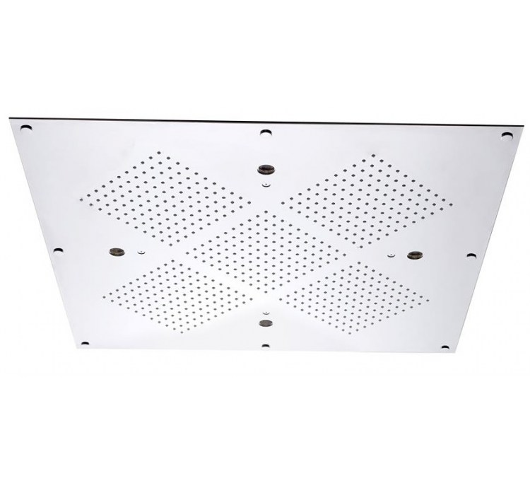 Soffione a soffitto senza chomoterapia 610x610mm