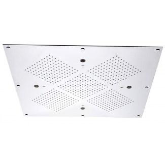 Douche de plafond sans chromothérapie avec brumisateur