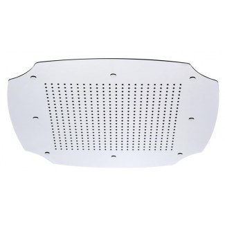 Douche de plafond Retro sans chromotherapie 550x550mm