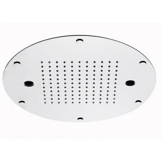 Chromotherapy retro ceiling shower 400x300mm