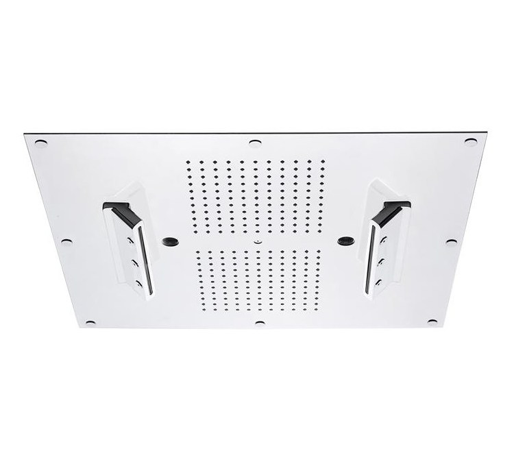 Ceiling shower 2 cascades without chromotherapy 550x500
